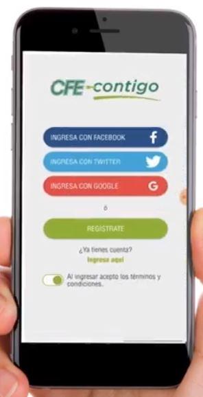 cfe contigo registrar app